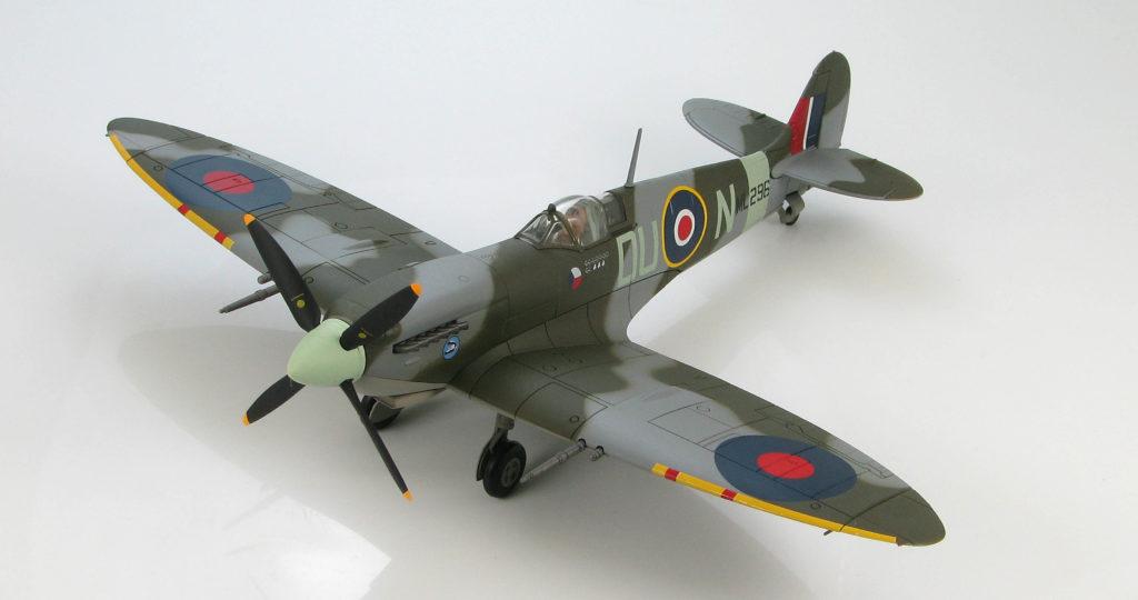 Maqueta de un Spitfire