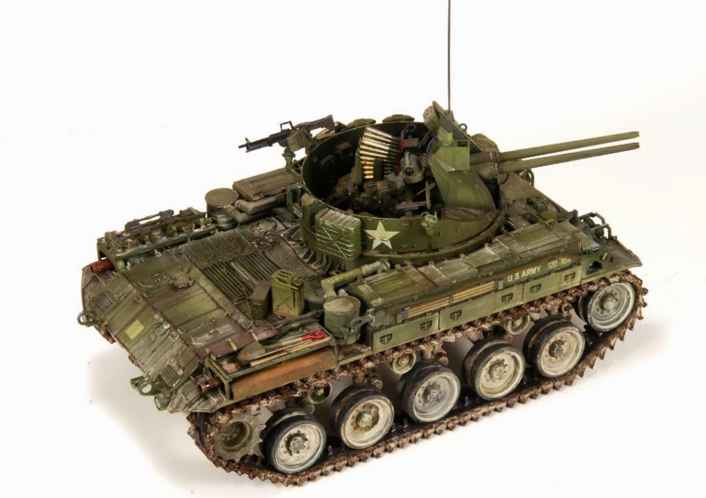 Maqueta de modelismo militar